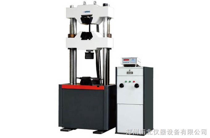 wes-1000液压万能试验机(数显式)图片