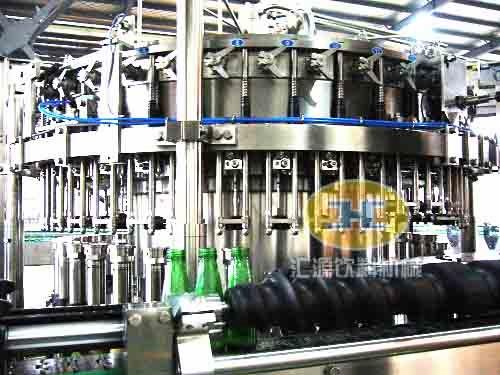 系列-玻璃瓶啤酒灌装机