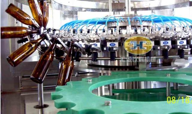 pgf 系列-pet瓶啤酒灌装机
