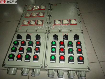 防爆照明(动力)配电箱采用复合型,模块结构,各回路可根据需要自由